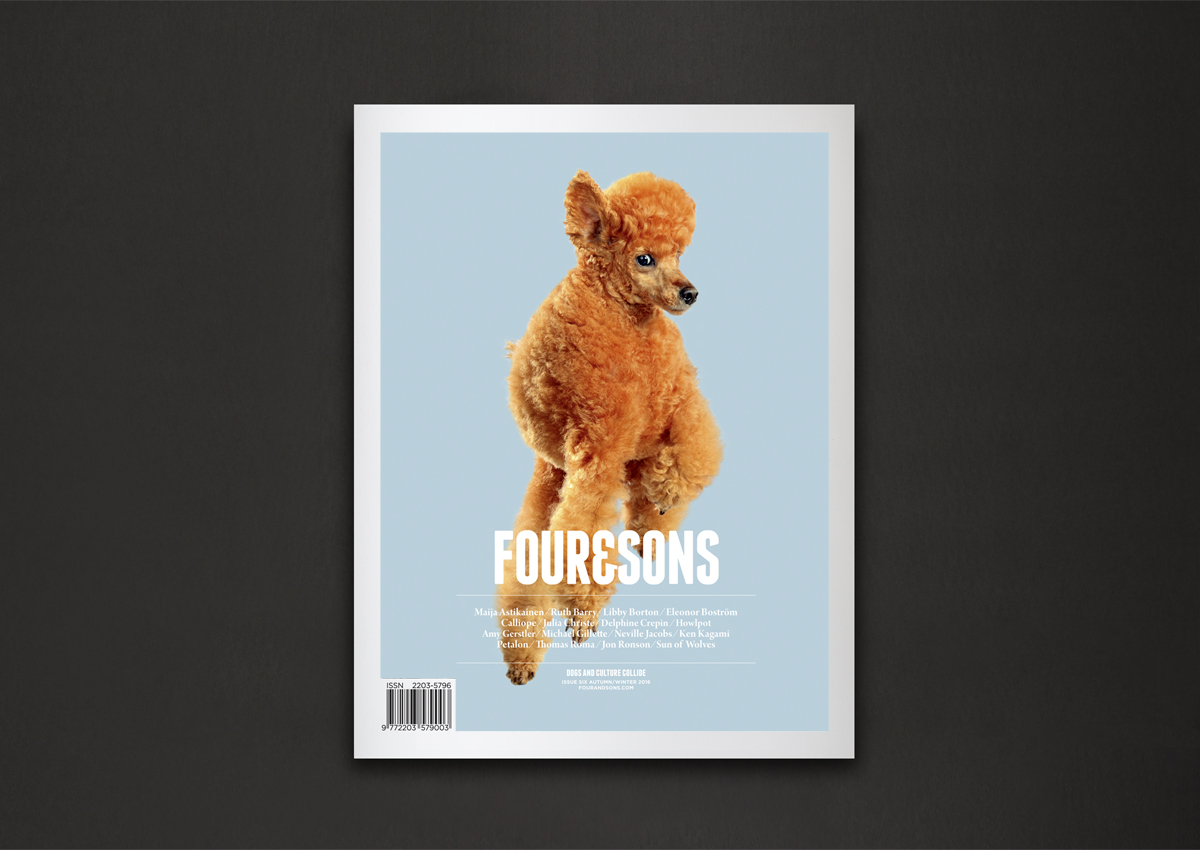 Four&Sons_IssueSix_Cover_Dark